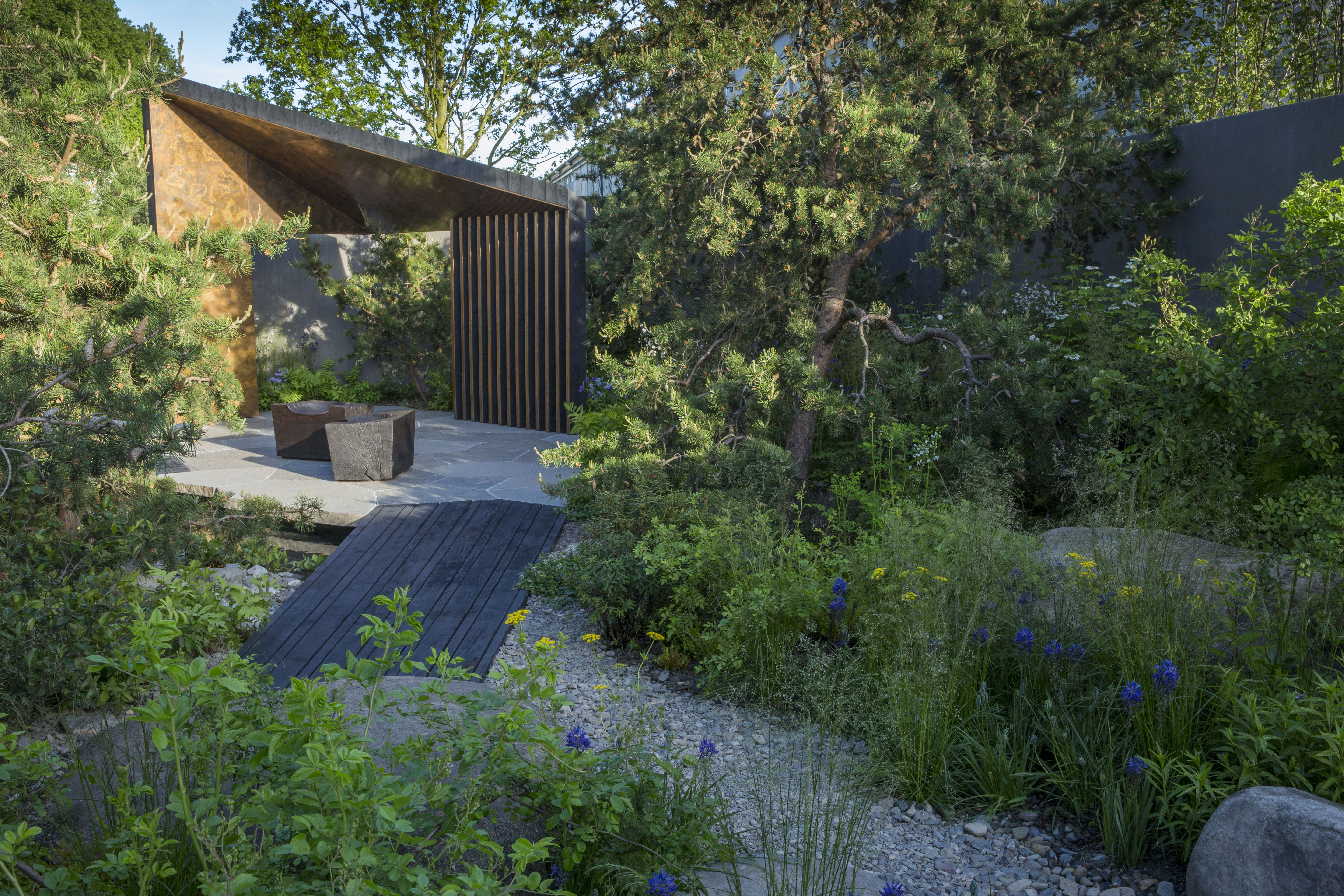 Following Its Starring Role At The RHS Chelsea Flower Show 2017, The Gold  Medal Winning Royal Bank Of Canada Garden Will Find A New Home At The  Wildfowl ...