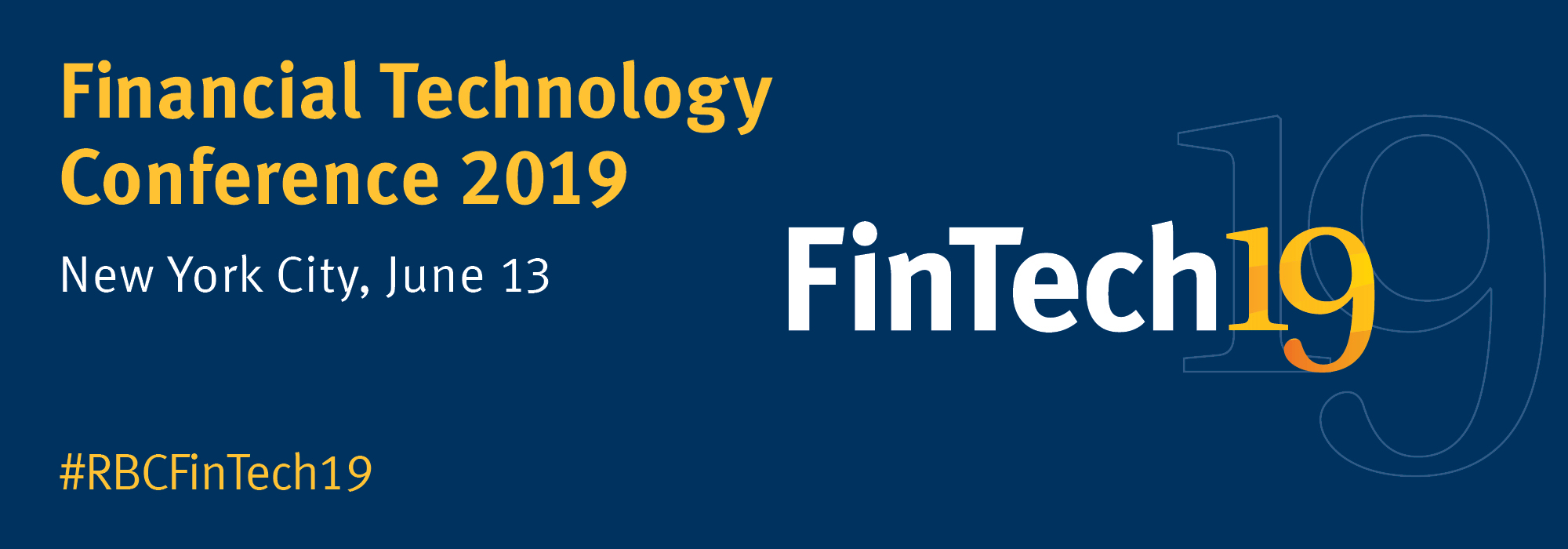 RBC Capital Markets | Financial Technology Conference 2019